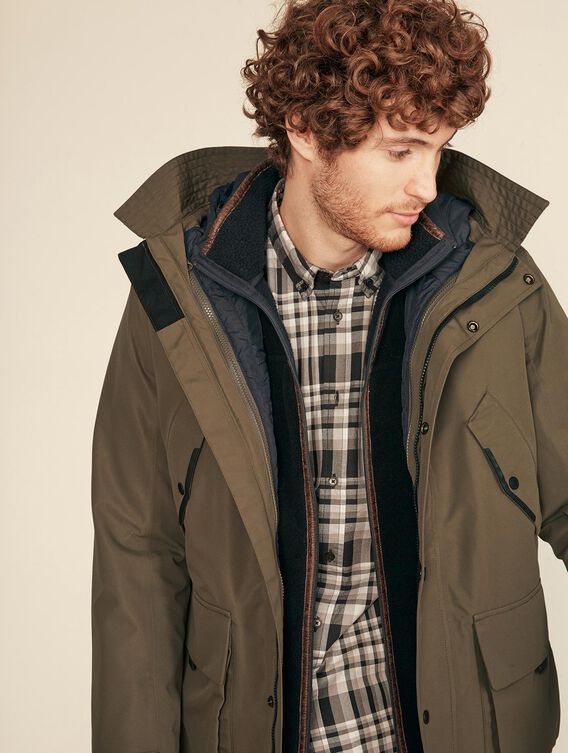 3-in-1 waterproof parka