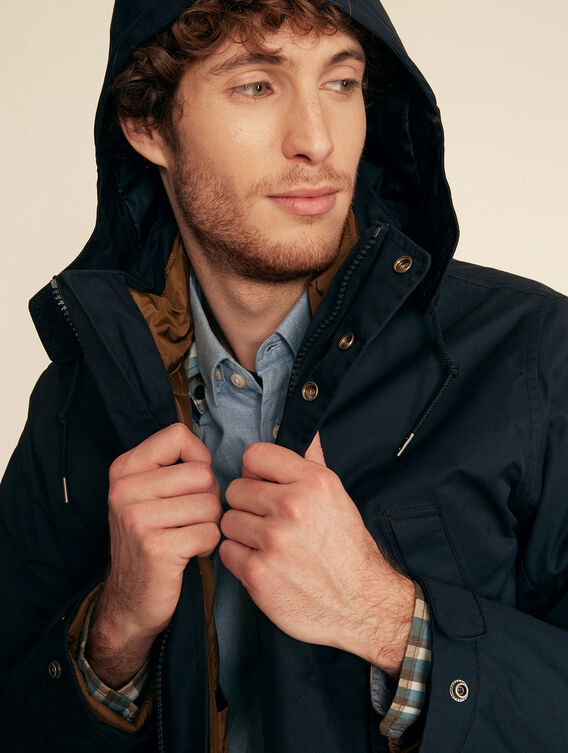 3-in-1 waterproof, breathable parka