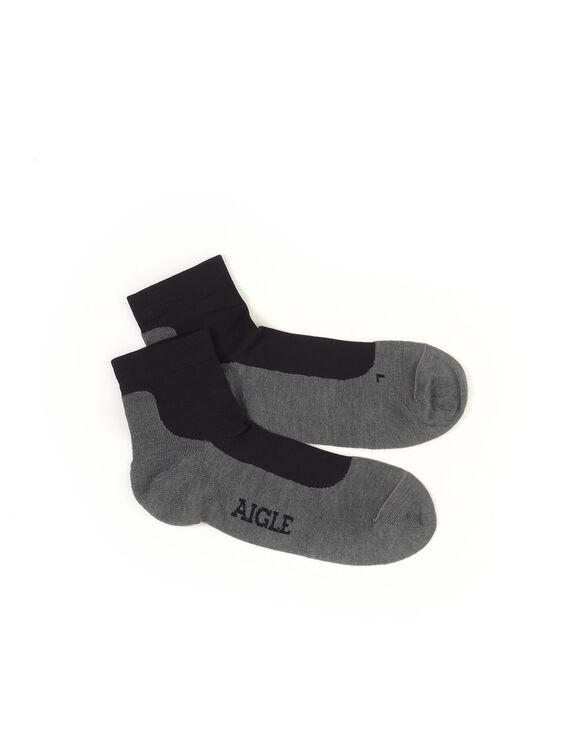 Men's socks with heat regulation
