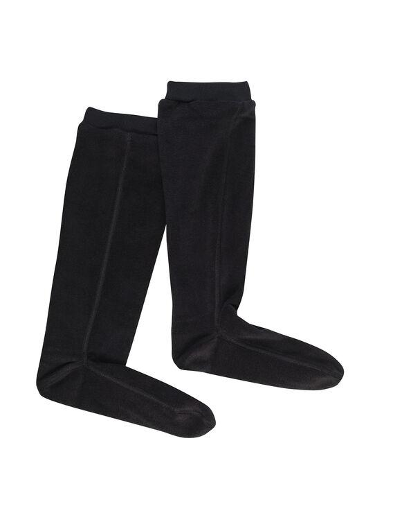 Mixed fleece boot socks