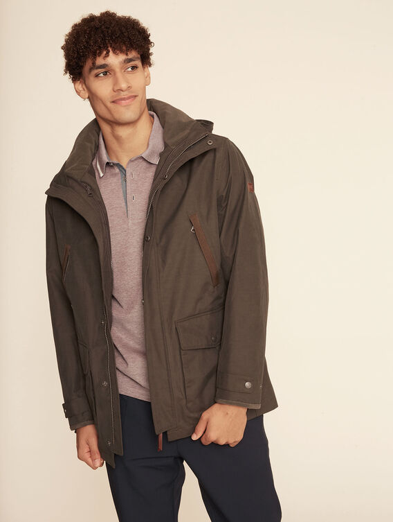 Breathable waterproof parka
