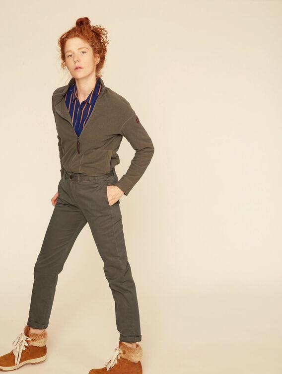 Lightweight fleece jacket