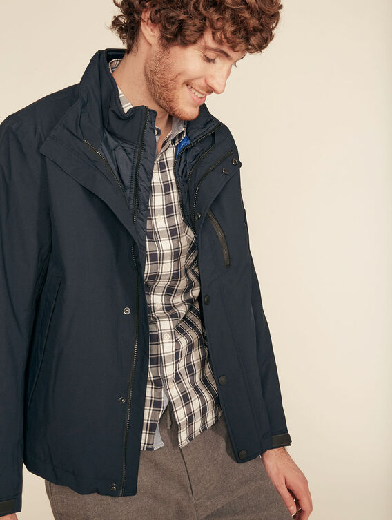 3-in-1 waterproof, breathable jacket