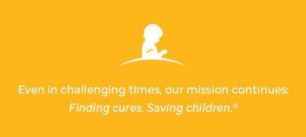 Go Gold for September. Shop St. Jude branded Childhood Cancer Awareness Month items