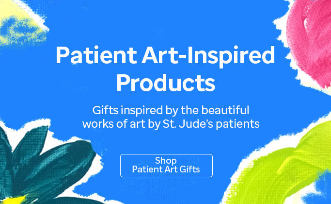 Click here to shop St. Jude patient art-inspired gifts.