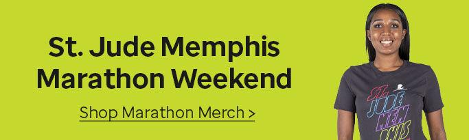 Click here to shop St. JudeMemphis Marathon Weekend merchandise.