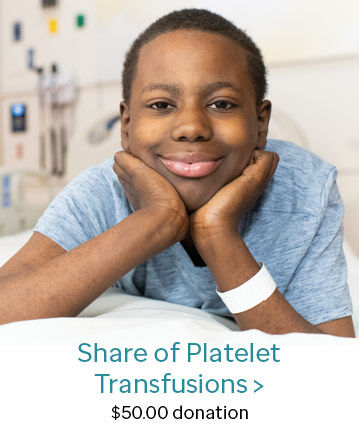 Donate Share of Platelet Transfusion