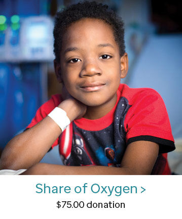 Share of Oxygen