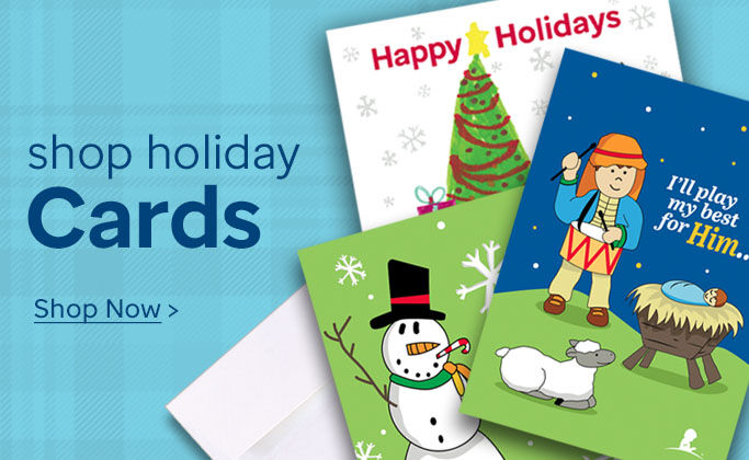 Shop holiday greeting and honor cards