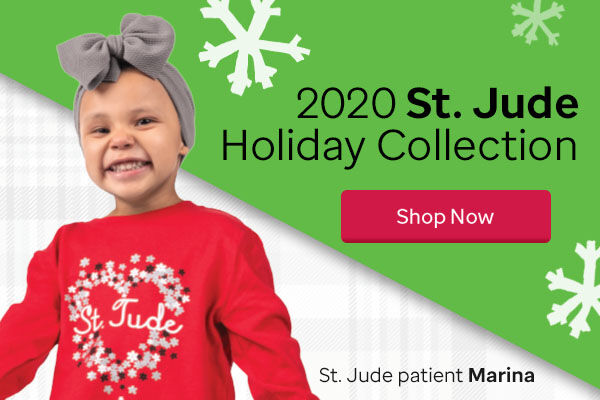 2020 St. Jude Gift Shop Holiday Collection