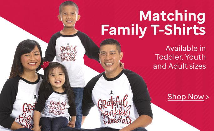 Shop Matching Family T-shirts