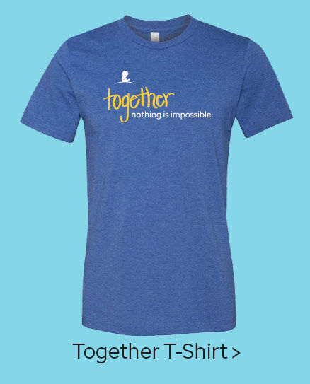 Click here to purchase the Together T-shirt.