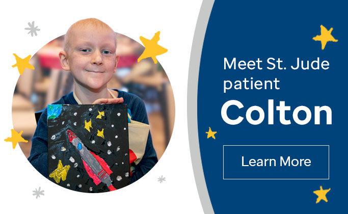 Meet St. Jude patient Colton