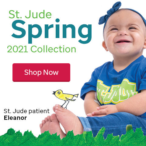 2021 St. Jude Gift Shop Spring Collection