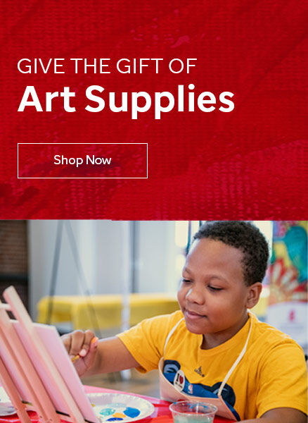 Click here to give the gift of art supplies.
