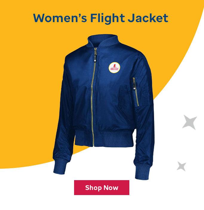 Click here to buy the Women's flight jacket