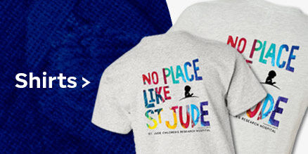 Click here to purchase the shirt inspired by St. Jude patient Caleb's artwork.