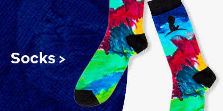 Click here to purchase the socks inspired by St. Jude patient Caleb's artwork
