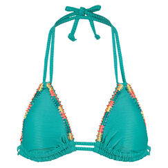 Triangle bikinitop Aurora, Blauw