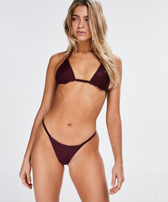 Triangle bikinitop Reversible, Paars