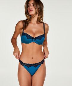 Voorgevormde beugel bh Secret lace, Blauw
