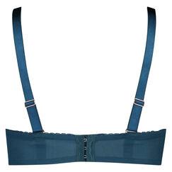 Voorgevormde strapless beugel bh Latrice, Blauw
