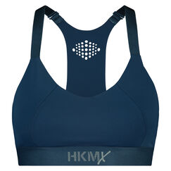 HKMX sport bh The Yoga Crop level 2, Blauw