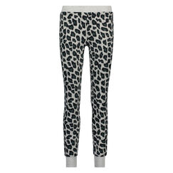 Legging micro fleece, Grijs