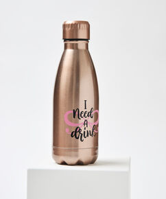 I need a Drink thermosfles, Roze