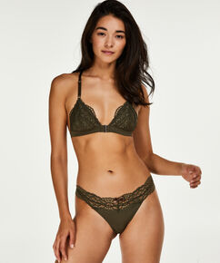 Triangle bralette Mayra, Groen