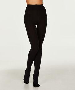 Panty 100 Denier Opaque, Zwart