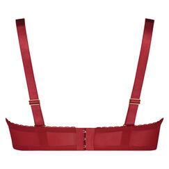 Voorgevormde strapless beugel bh Latrice, Rood