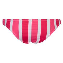 Laag cheeky bikinibroekje Candy Stripes, Roze
