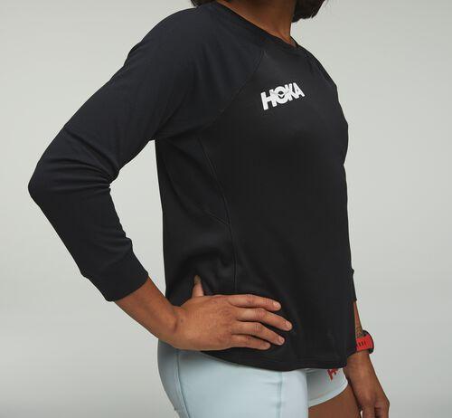 HOKA Women's Performance 3/4 Sleeve