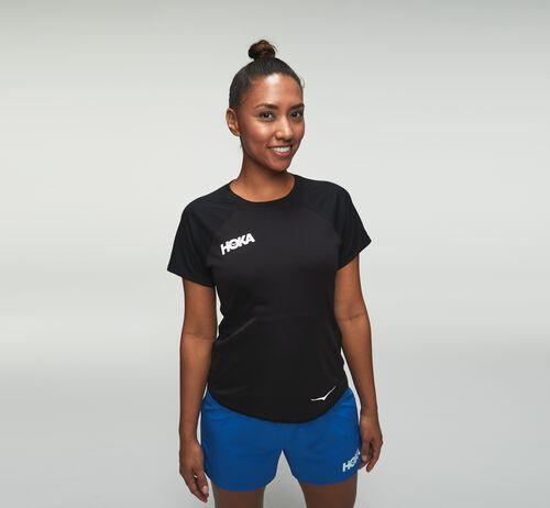 HOKA Women's Performance Short Sleeve