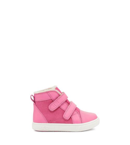 UGG Rennon II Basket pour Tout-Petits en Pink Rose, taille 26 | Suède