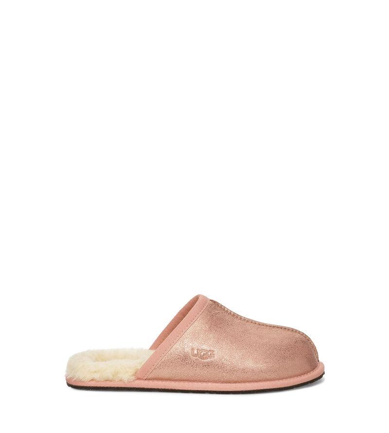 Ugg Women S Pearle Iridescent Slipper In Rose Gold Ricciano United Kingdom