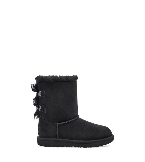 UGG Botte Bailey Bow II Exotic en Black