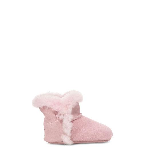 UGG Lassen Bottes pour Bébés en Seashell Pink, taille 20.5 | Suède