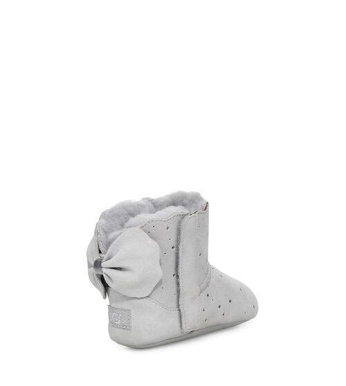 UGG Jesse Bow II Starry Liteie Bottes pour Bébés en Grey Violet, taille 20.5   Suède