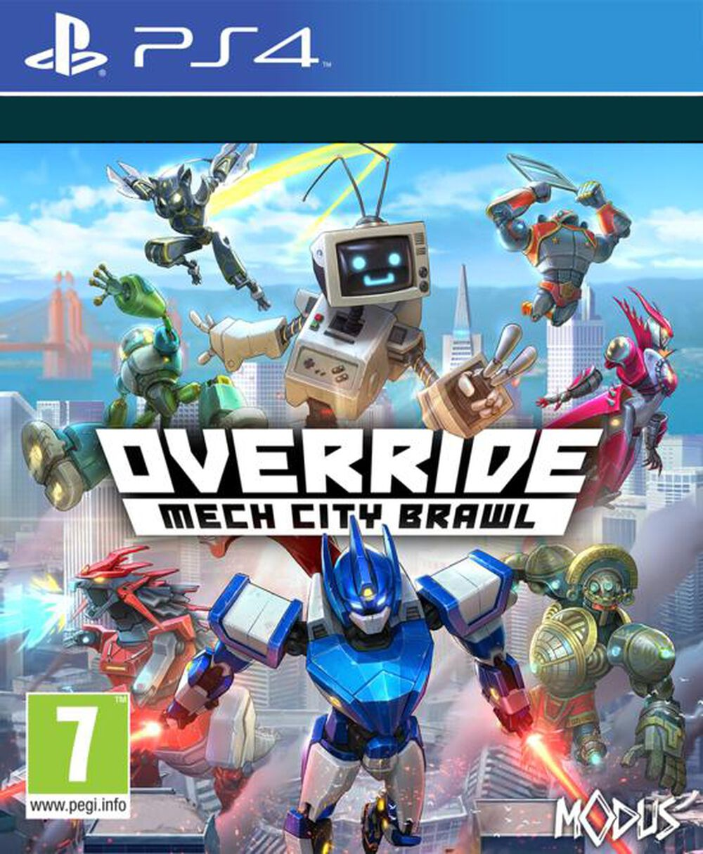 Override Mech City Super Charged