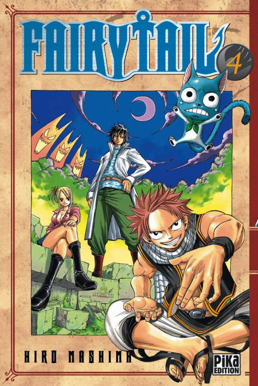 Manga - Fairy Tail - Tome 04