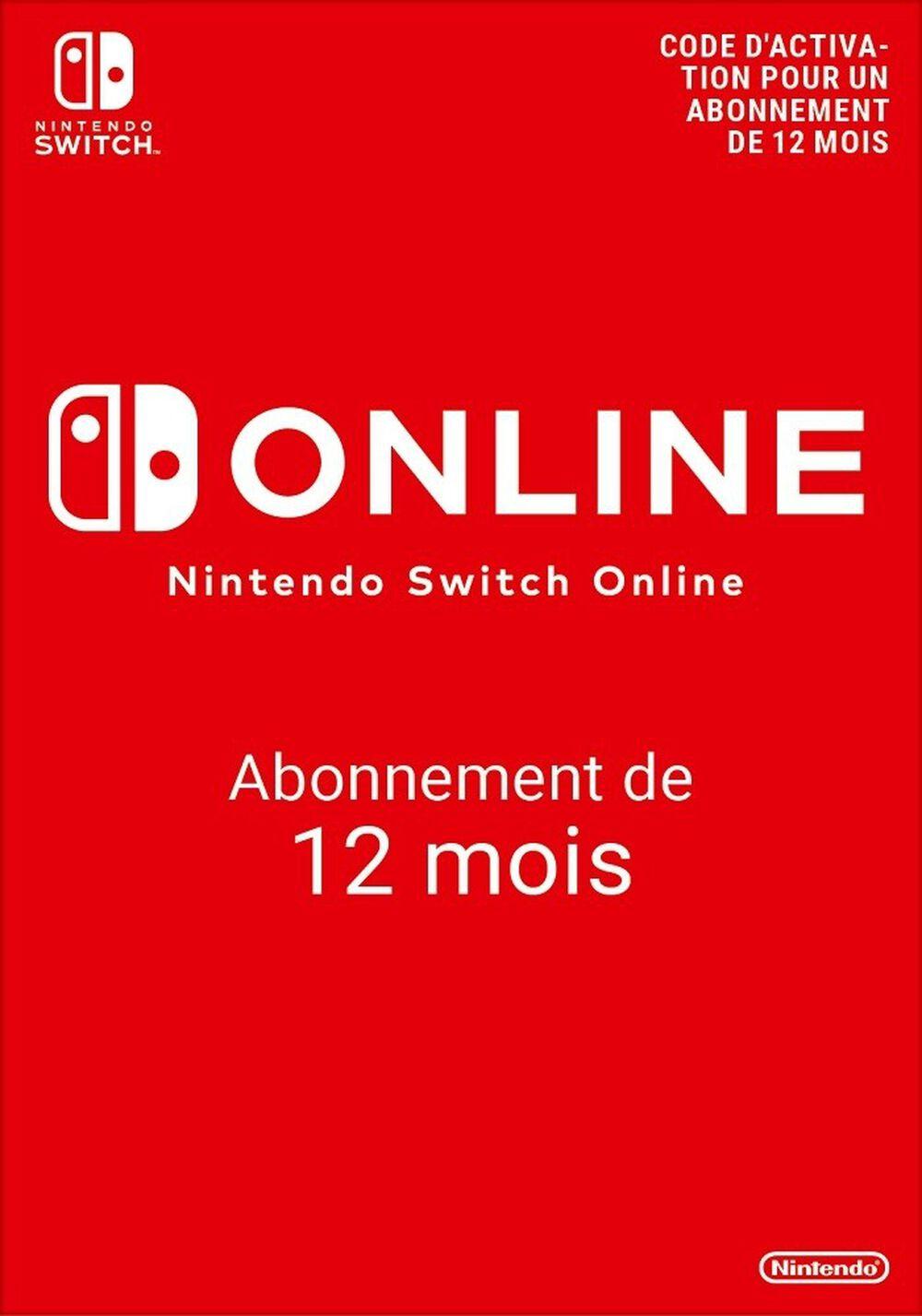 Nintendo Switch Online 365 Jours (individuel)