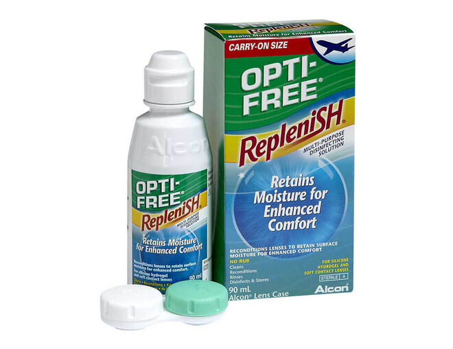 Opti-Free RepleniSH Flight Pack, , primary