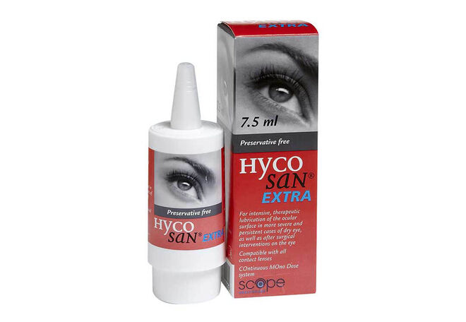 Hycosan Extra Eye Drops, , primary