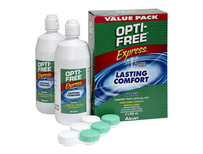 Opti-Free Express Duo Pack, , primary