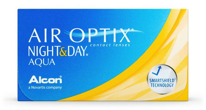 Air Optix Night & Day Aqua, 3, primary