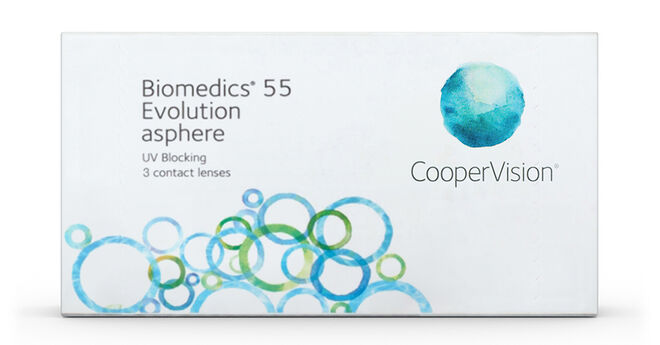 Biomedics 55 Evolution, 3, primary