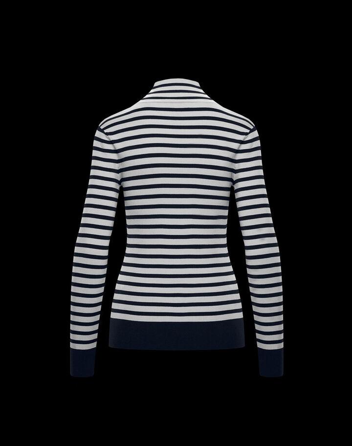 Moncler Viscose-blend sweater Dark Blue