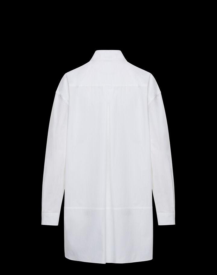 Moncler Poplin shirt Optical White